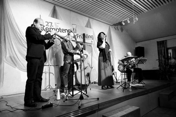 Mia Weirich & Band - Kemptener Jazzfrühling, Fotograf: Kees van Surksum
