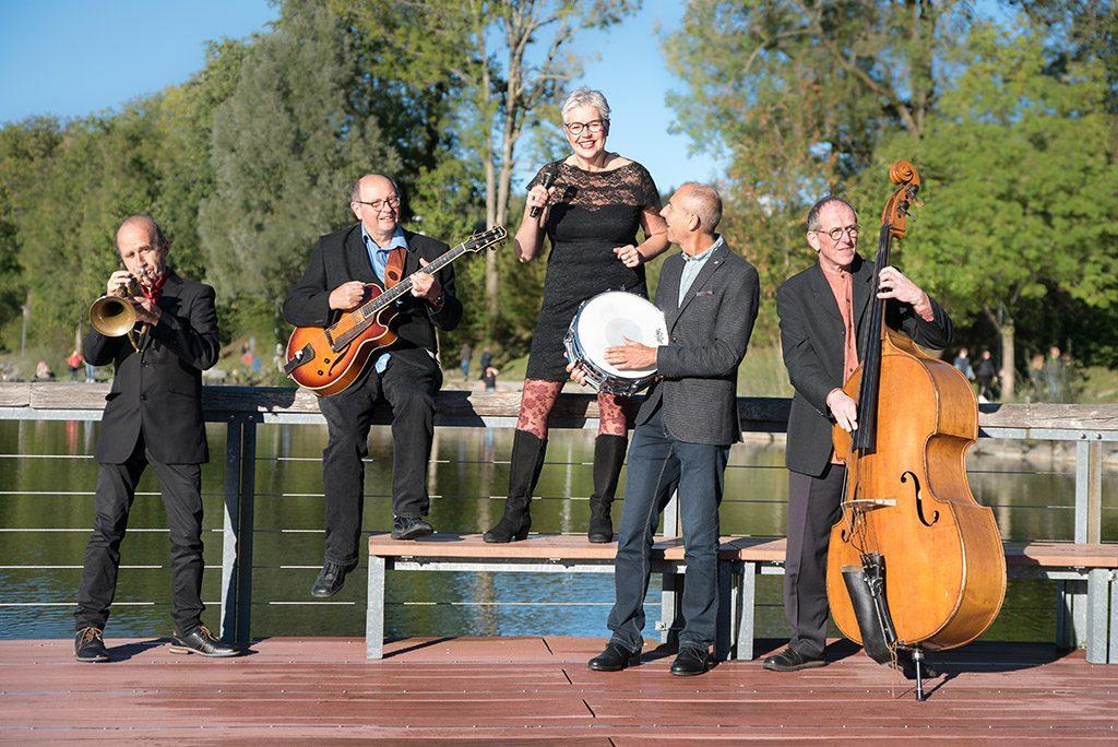Mia Weirich Band Jazz Ensemble aus Kempten und Kaufbeuren